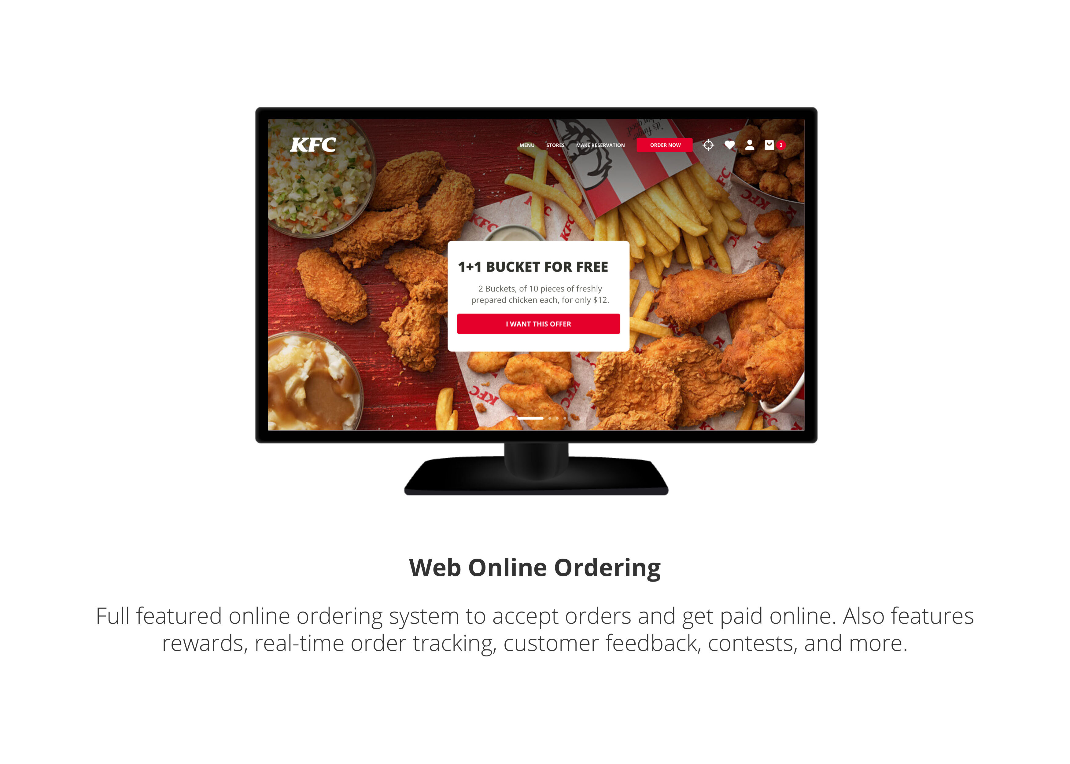 Web Online Ordering