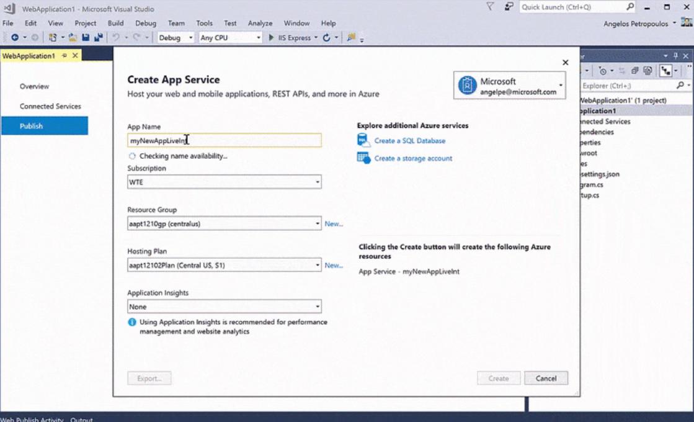 Visual Studio deployment management