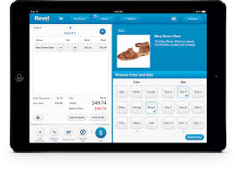 Shoe sales with Revel POS