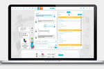 INSIDE Screenshot: INSIDE provides a chat platform for eCommerce businesses to interact with customers and potential leads, with personalized content and response templates