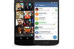 Captura de pantalla de Telegram: A native mobile app is available for Android