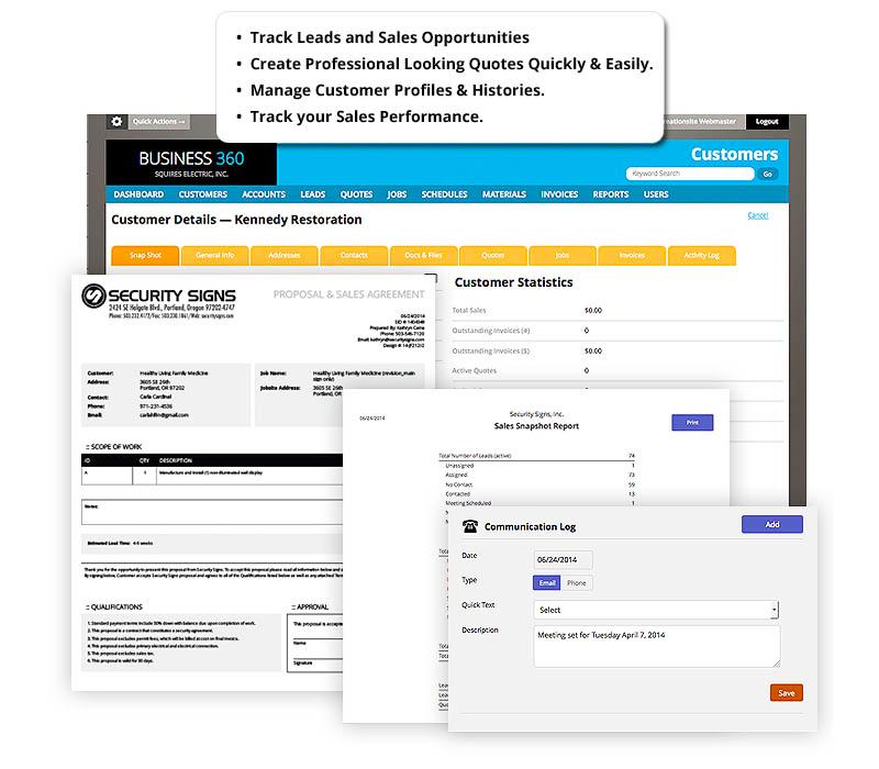 360e customer details screenshot