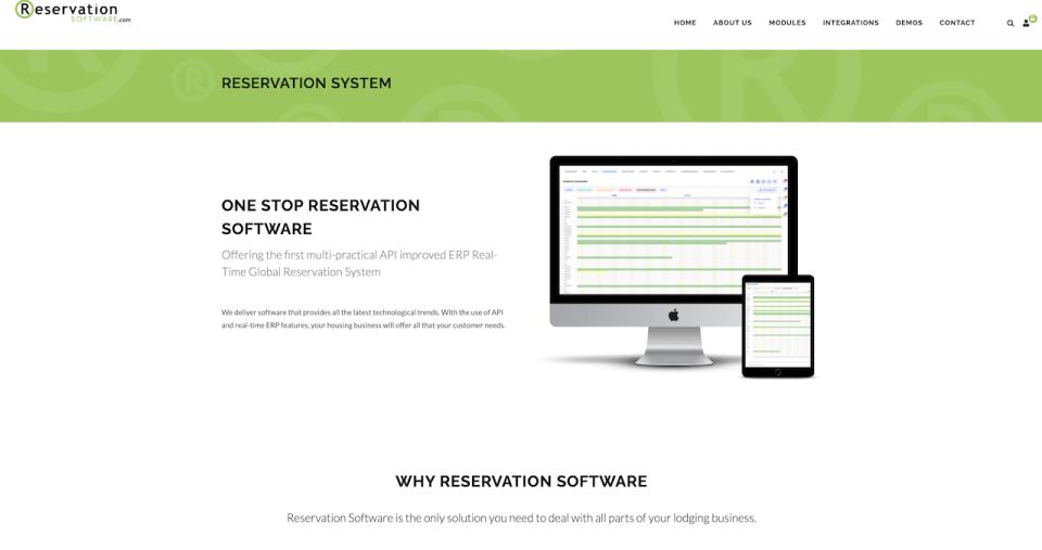 Reservation Software Software - 4