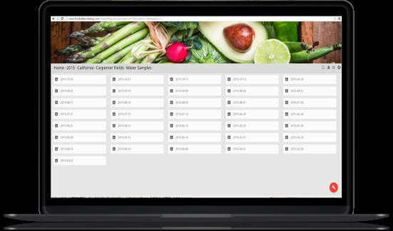 Visual Produce produce information