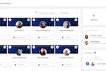 Captura de pantalla de eXo Platform: People