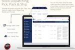 ERP MARK 7 screenshot: Stock dispatching, pick, pack & ship