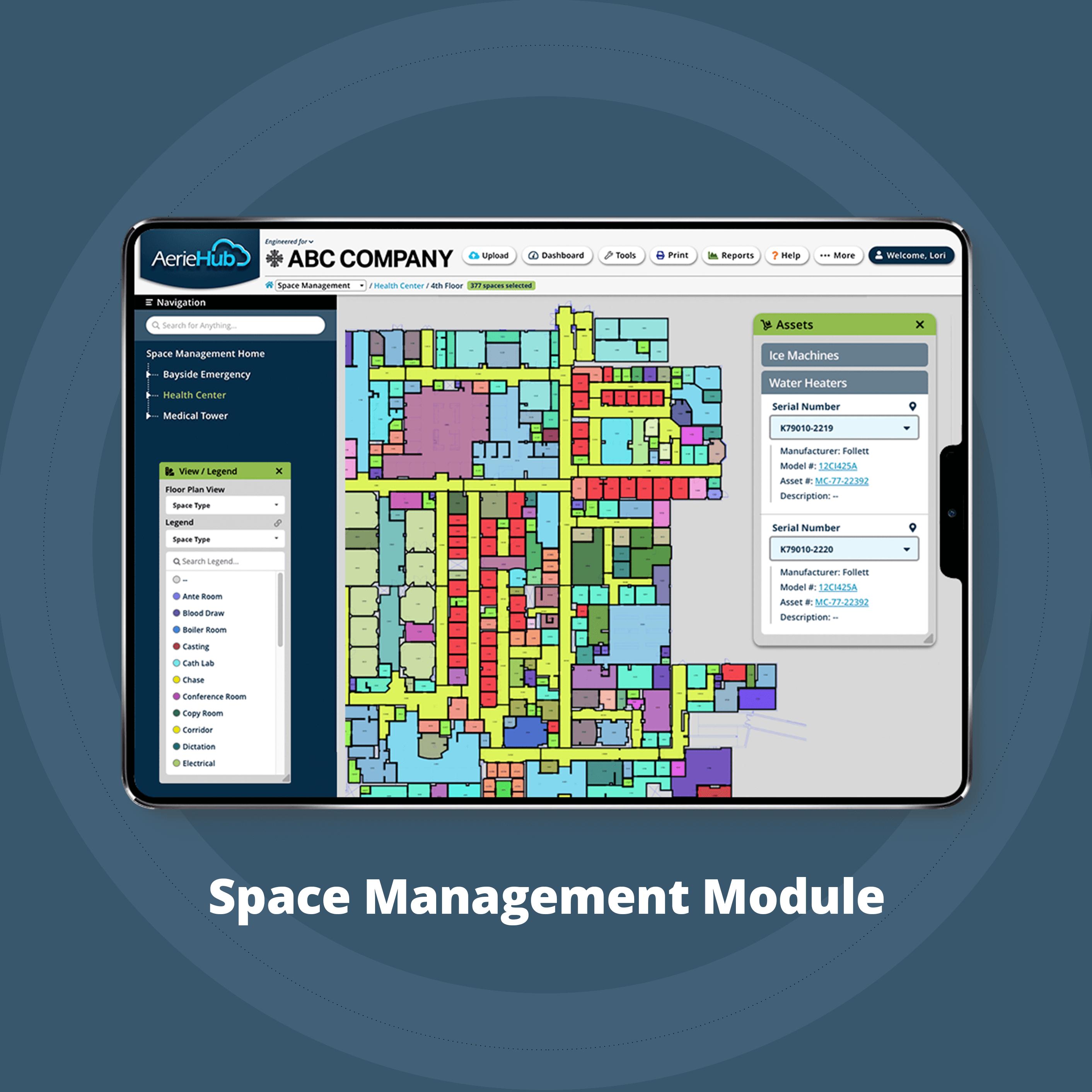 Space Management Module