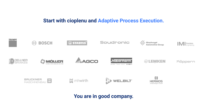 Industry leaders trust cioplenu globally.