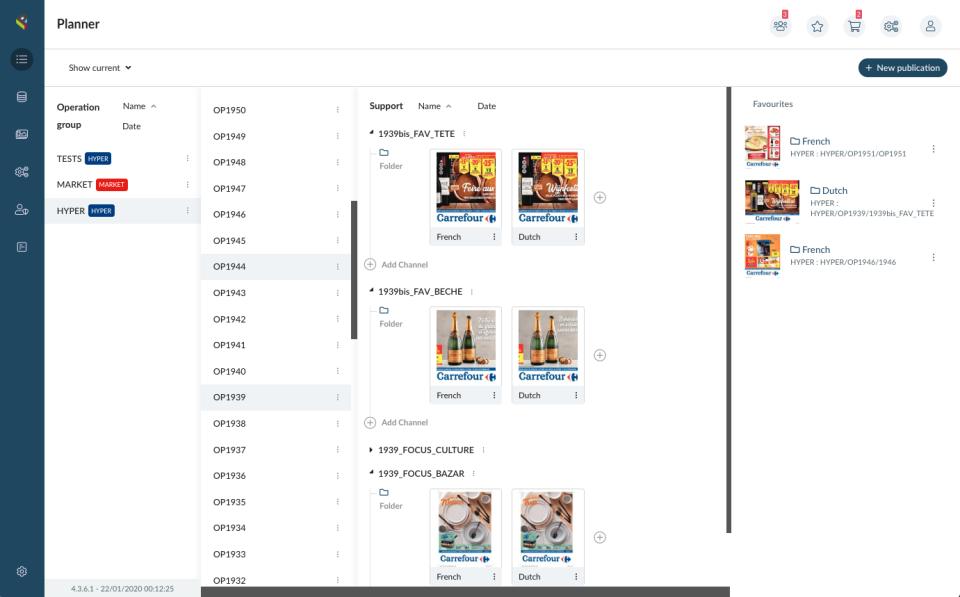 Pimalion screenshot: Pimalion planner