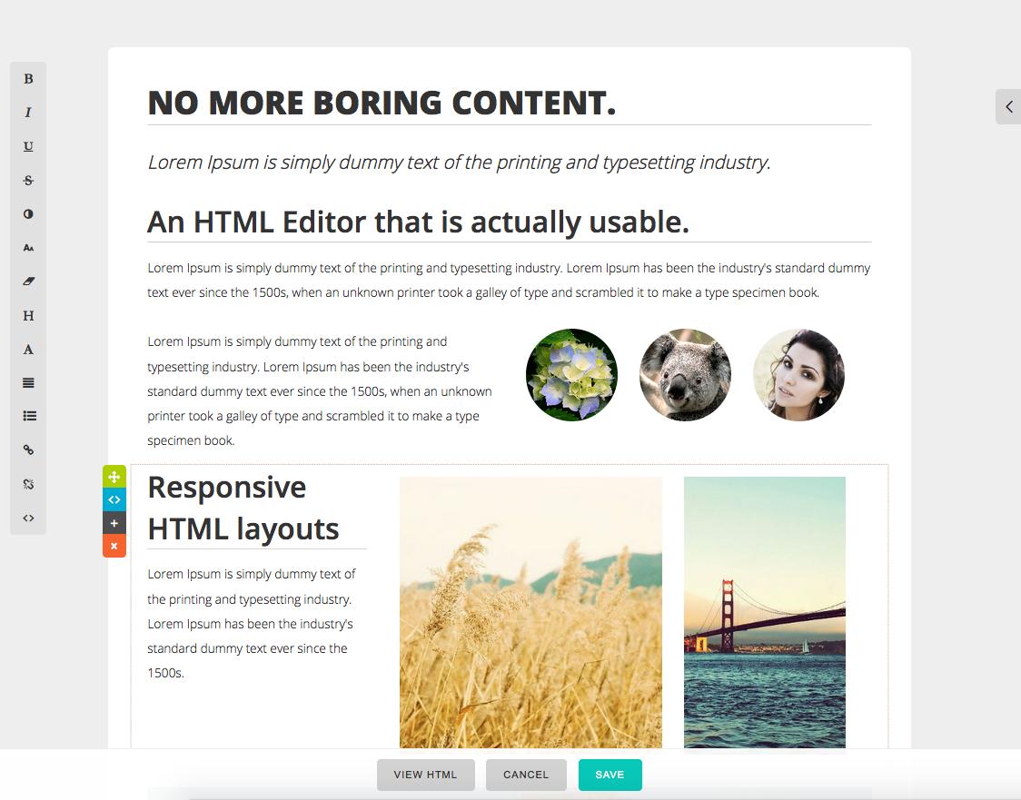 IntelliEnterprise HTML Editor