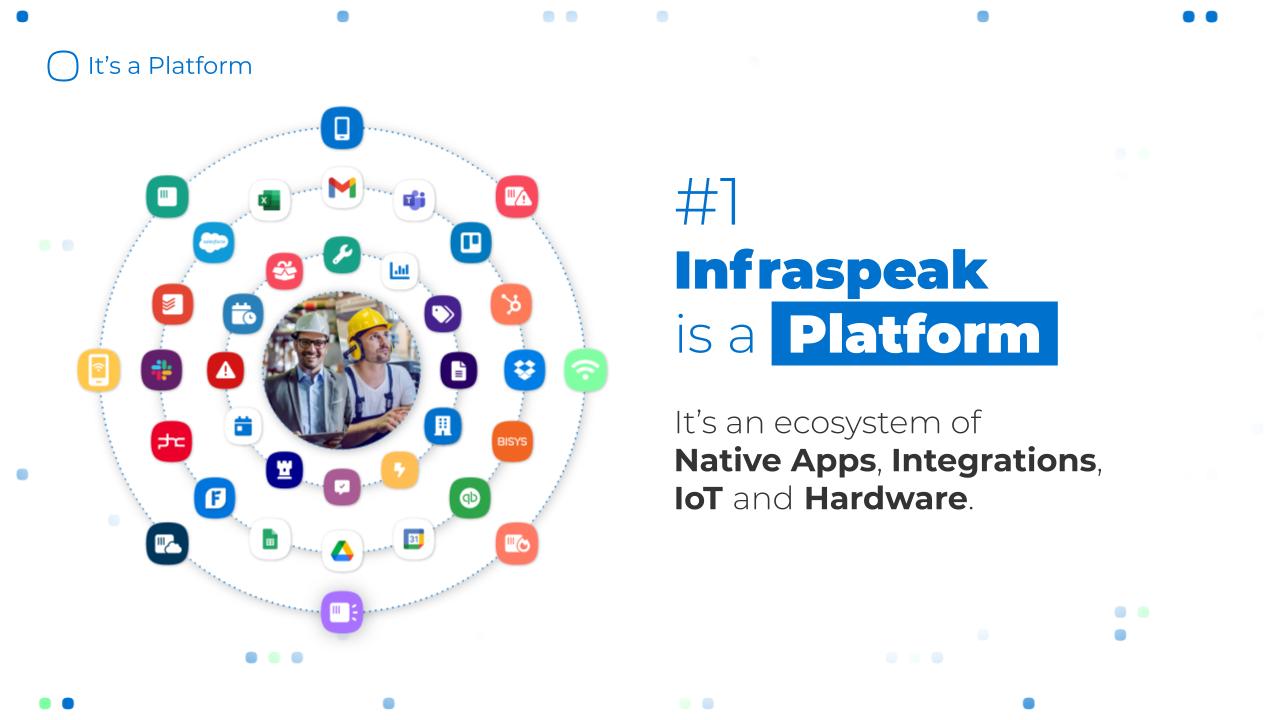 Infraspeak screenshot: Infraspeak Platform
