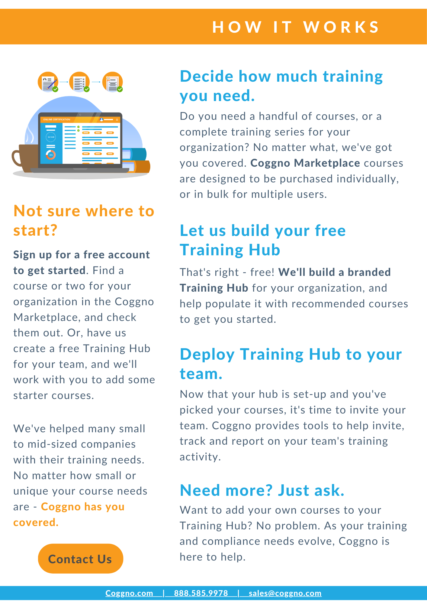With its constantly-evolving software platform, Coggno continues to establish its  presence in the Online Training space.