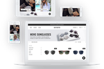Shopify Plus screenshot: Optimize the website to drive sales by customizing its look and feel across devices