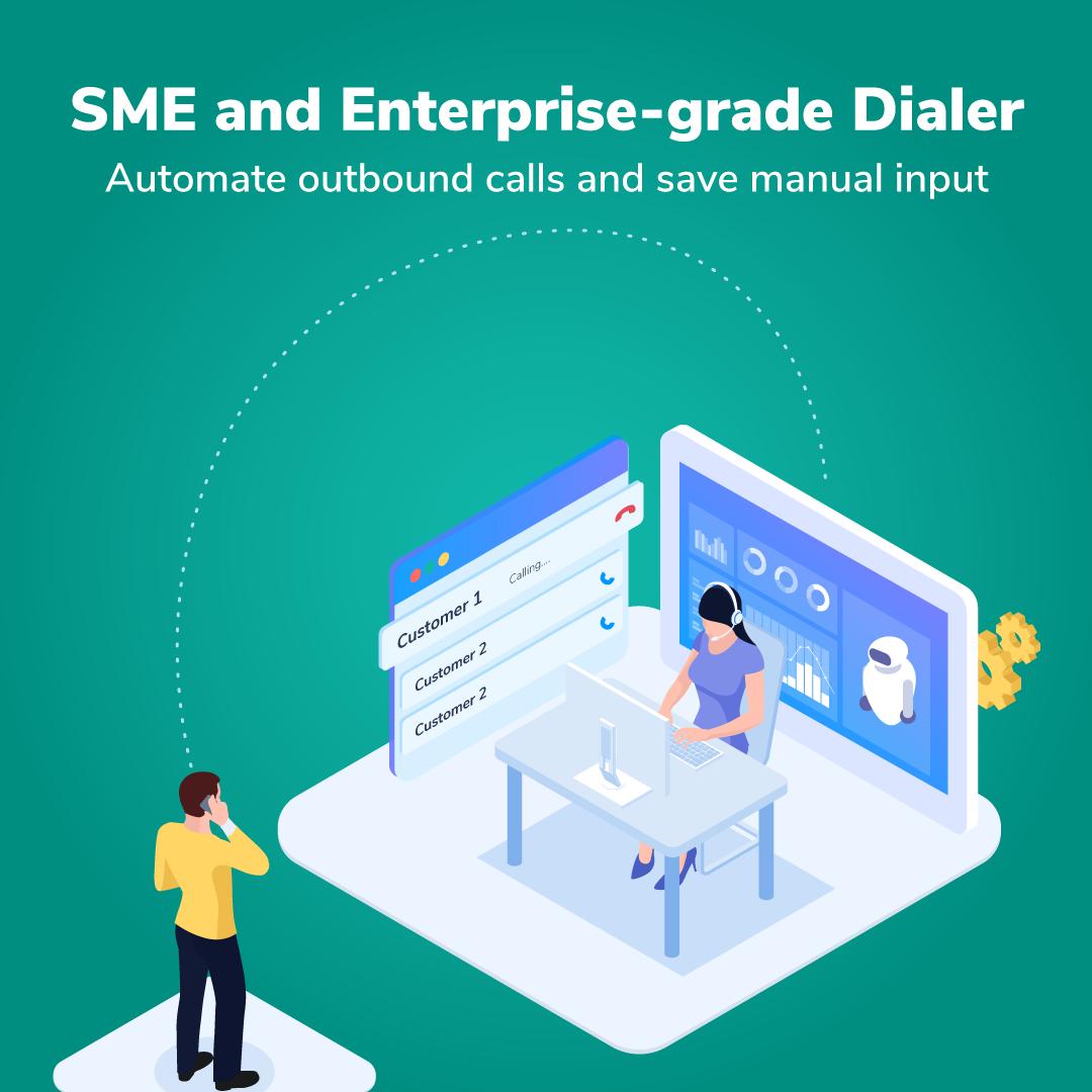cloud telephony for SMEs, cloud telephony for small business. cloud communication for small business, progressive dialer, predictive dialer, Enterprise dialers , enterprise softphone