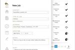 BigChange screenshot: Manage and create bookings