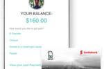Wingmate screenshot: Lead generator balance page and cash card