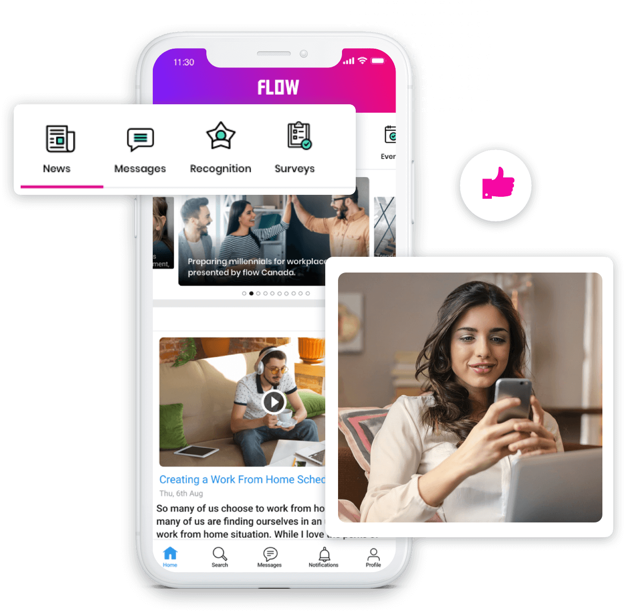 HubEngage Software - Create beautiful, powerful employee apps for iOS and Android that meet your employee communication needs while accelerating engagement fast. Reach your employees with relevant content through deep segmentation tools that makes it fun and engaging.