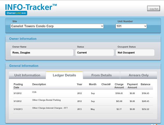 INFO-Tracker Software - Home