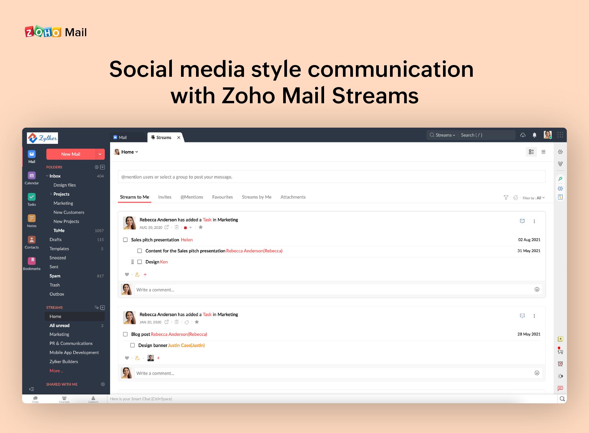 Zoho Mail Logiciel - 4