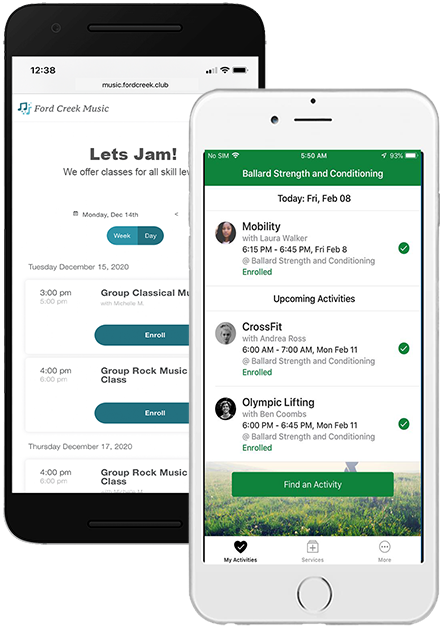 Pike13 Software - Embeddable widgets make it easy to display your Pike13 schedule on your website. A free Client App puts your business in your clients' pockets. Available option to brand the Client App to your business.