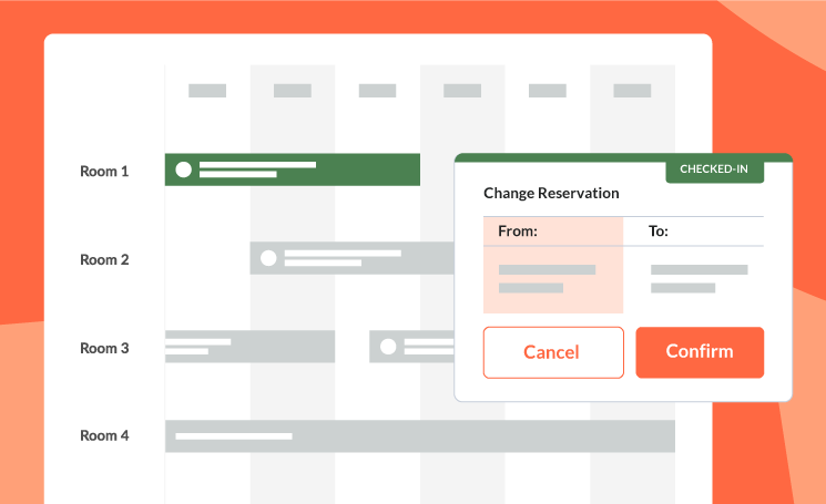 Easy to make changes to reservations