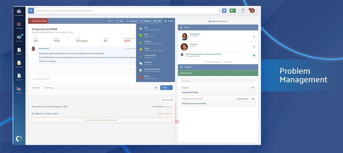 InvGate Service Desk Software - Problem Management
