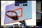 Polarr Screenshot: Polarr editing tools