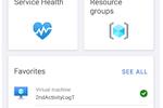 Capture d'écran pour Microsoft Azure : Microsoft Azure mobile dashboard