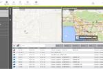 Teletrac Navman DIRECTOR screenshot: Teletrac - Map View tab