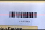ThunderTix screenshot: ThunderTix App - mobile image for a valid barcode ticket