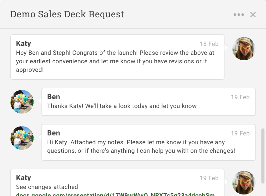 ProjectManager.com Software - Projectmanager.com task commenting and collaboration