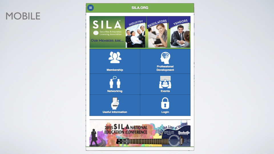 i4a AMS is mobile-optimized to ensure that public-facing web content is available to view consistently across devices