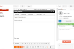 Captura de pantalla de HubSpot Sales Hub: Use notifications to follow up as soon as a lead opens an email, downloads an attachment, and more