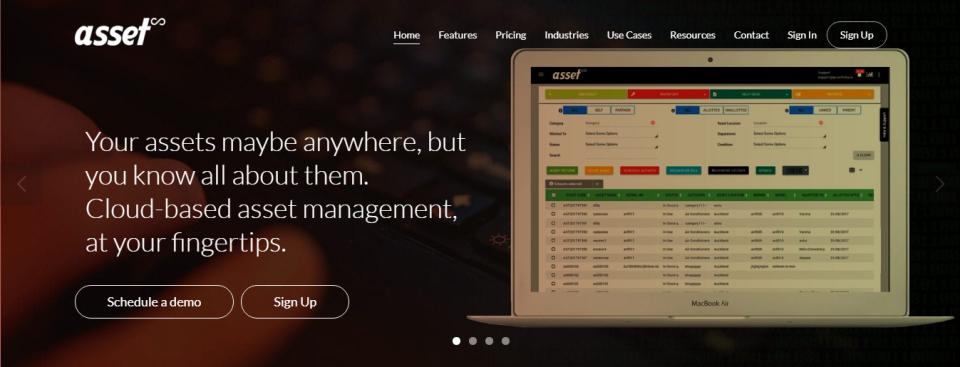Asset Infinity Software - Website_AI