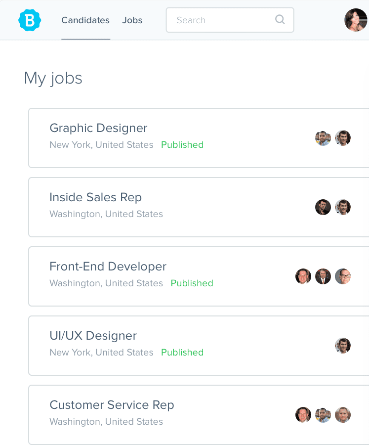Users can create and post multiple jobs across different job boards