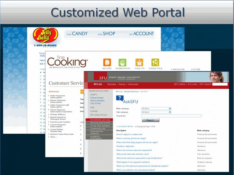 GovQA Software - Customized web portal