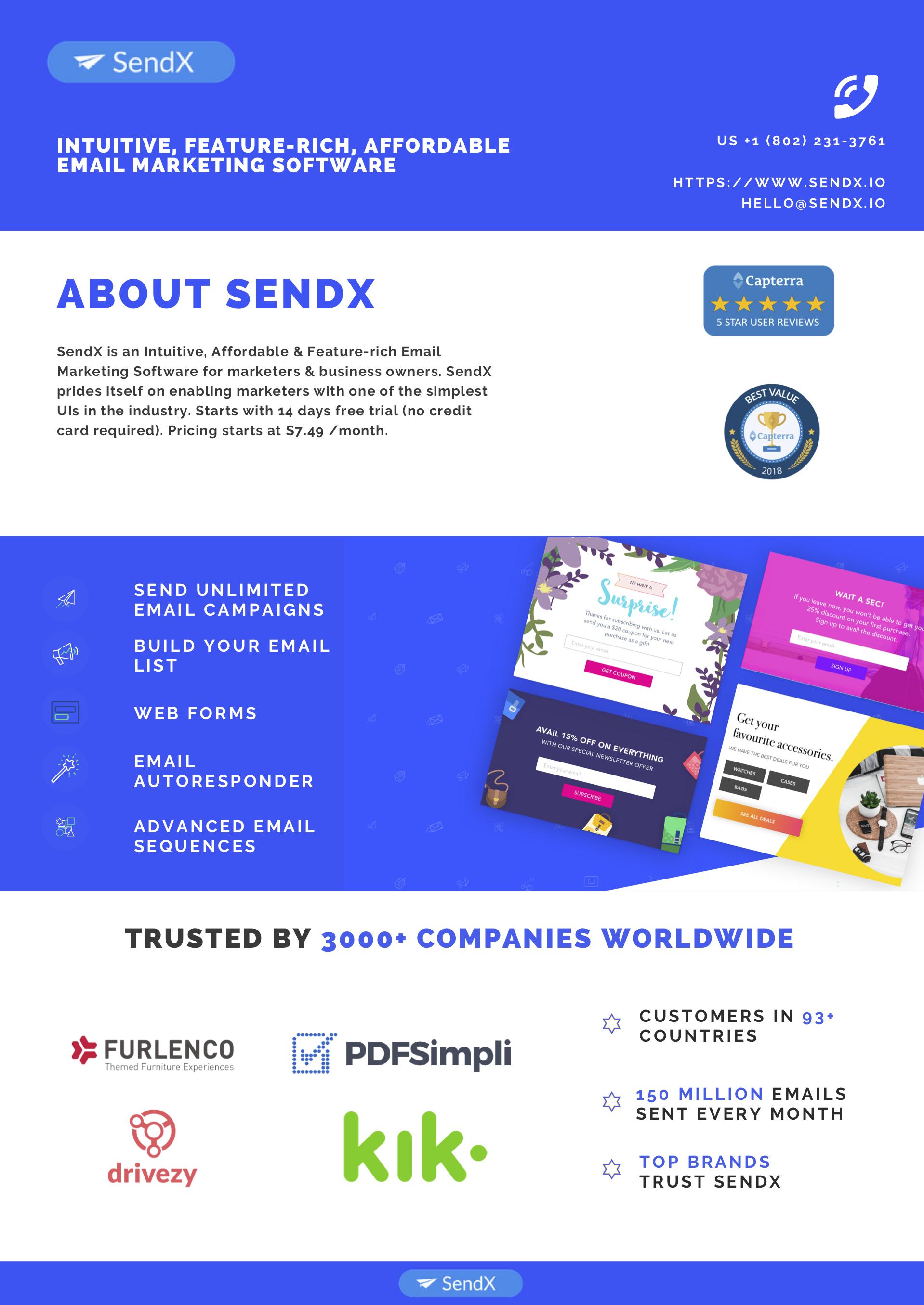 SendX screenshot