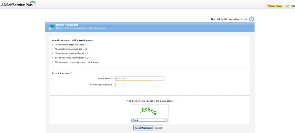ManageEngine ADSelfService Plus Logiciel - 3