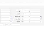 Campus Cafe screenshot: Campus Cafe Query builder allows to build custom query with user defined inputs
