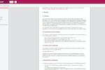 qmsWrapper screenshot: QualityManual