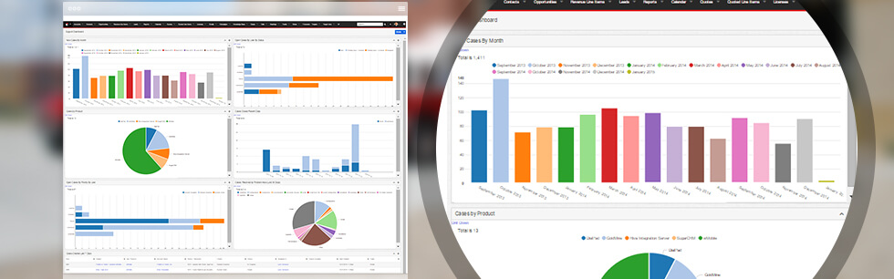 Build various types of reports and reference data from across the system