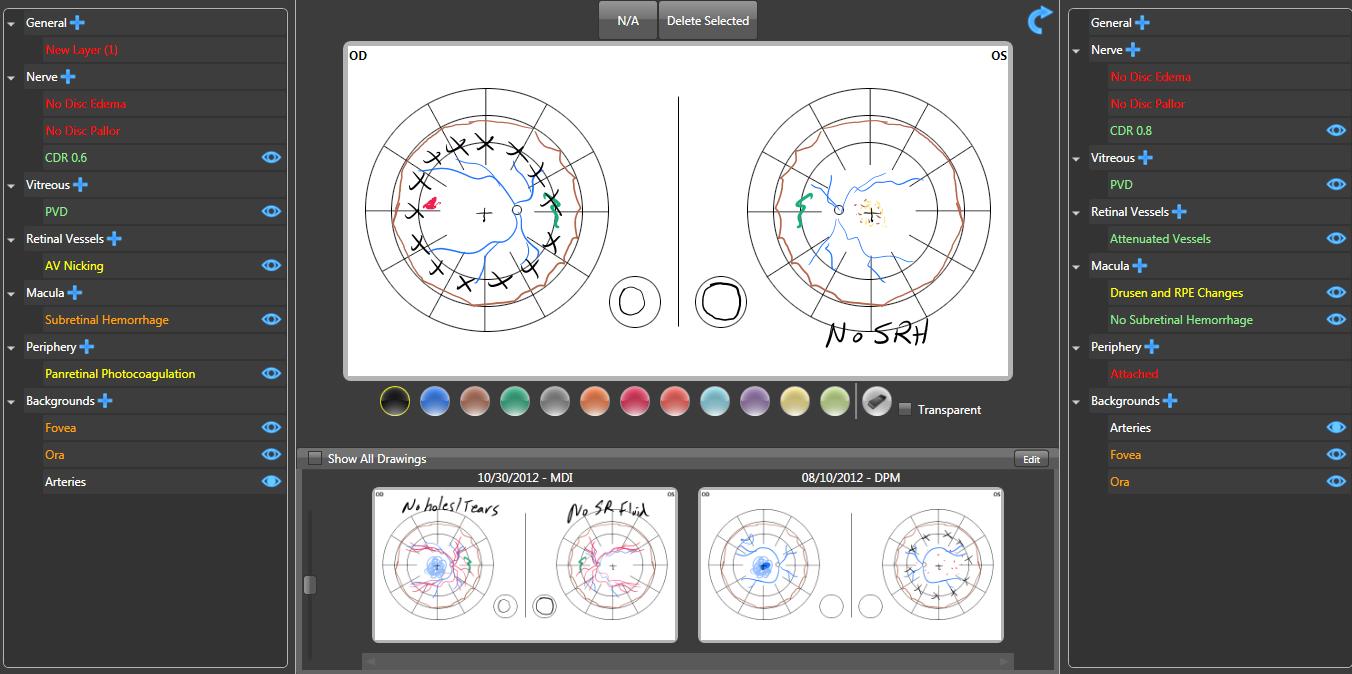 IntelleChartPRO Software - Drawings