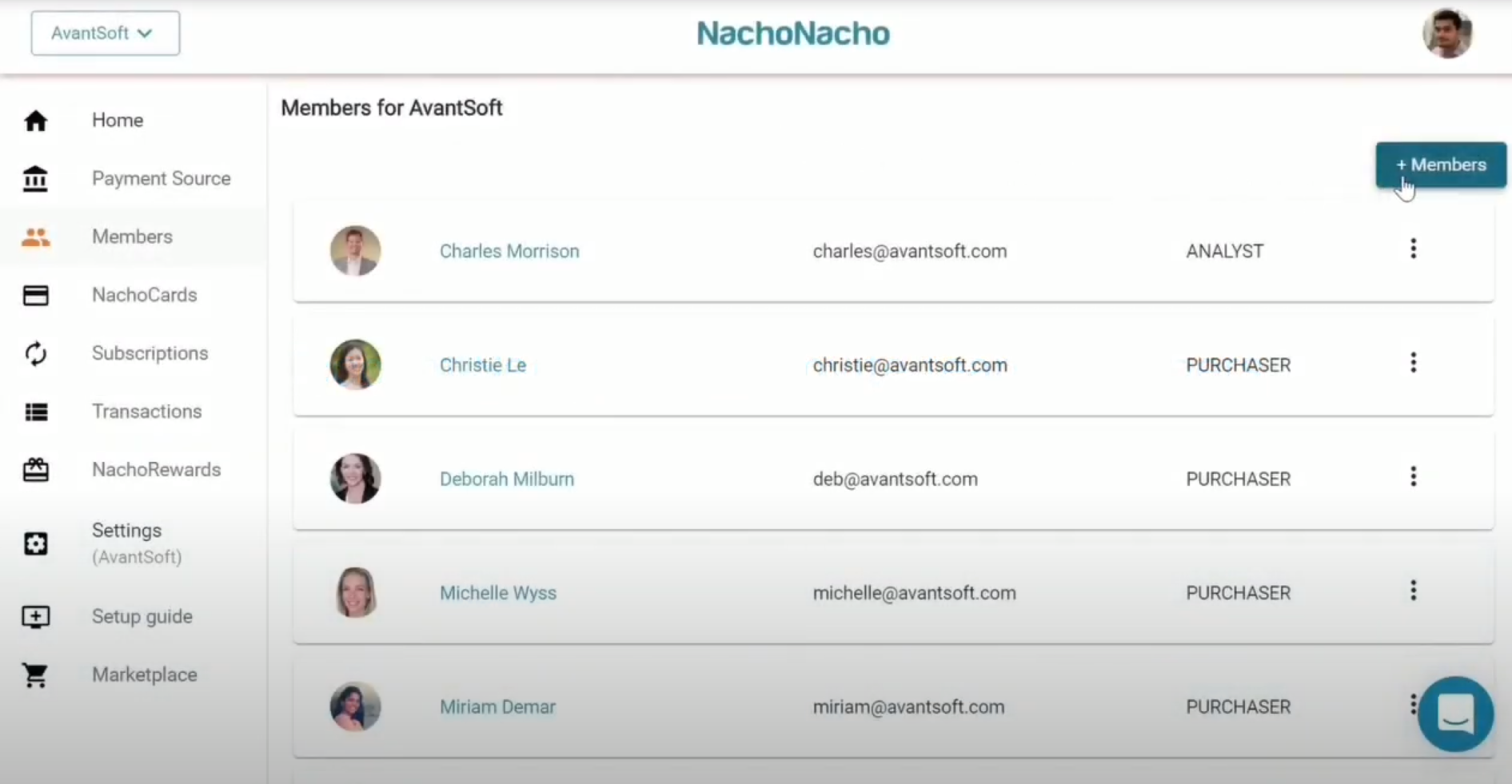 NachoNacho member details