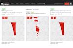 Physna screenshot: Physna historical versions screenshot