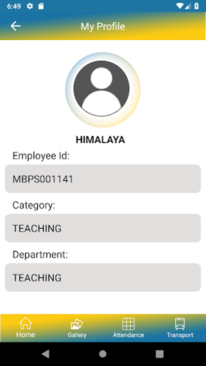 Edumarshal teacher profile