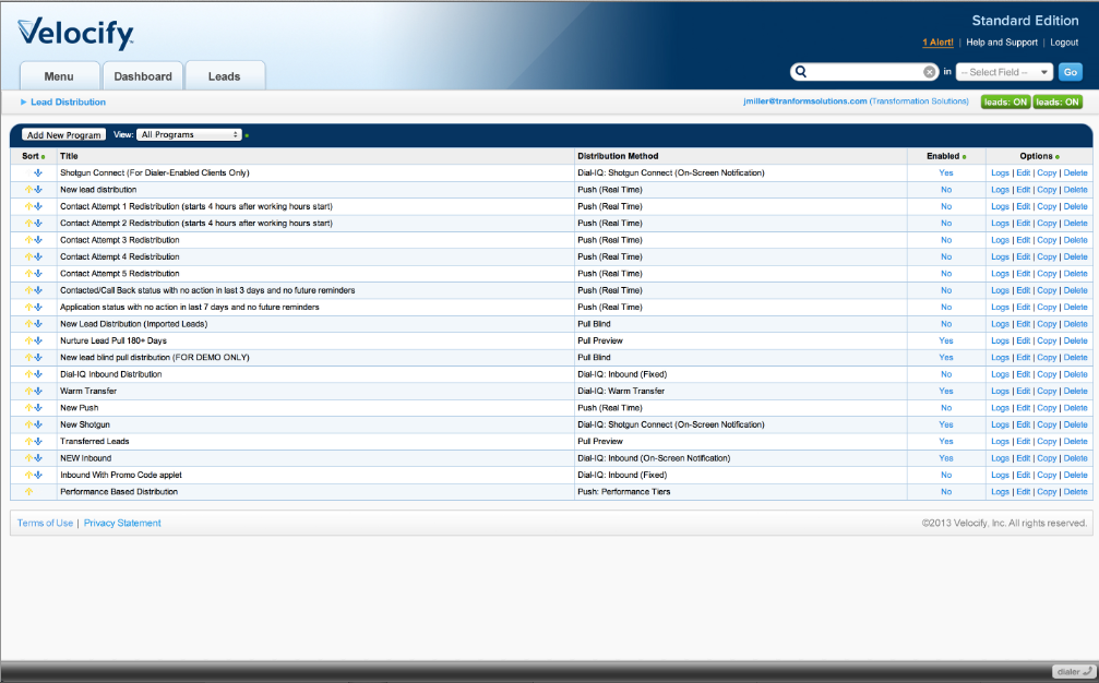 Velocify Software - 6