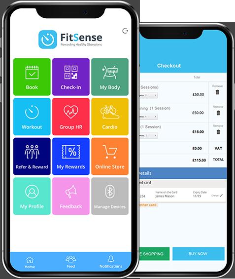 ClubWise mobile dashboard