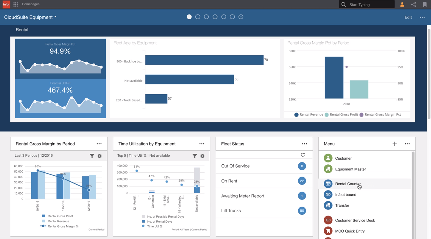 Infor M3 Software - Infor M3 Equipment – homepage