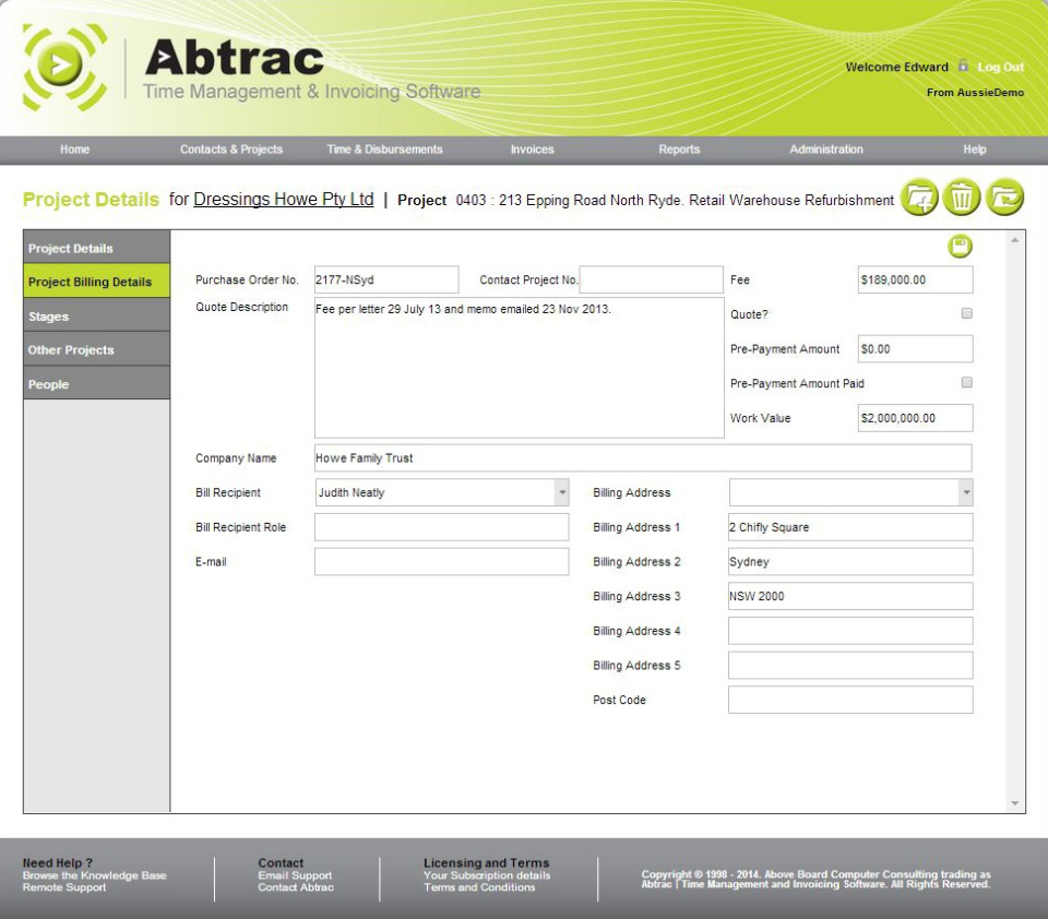 Abtrac Software - 5