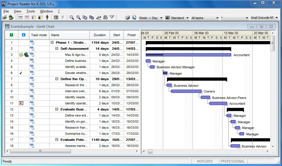 Project Reader Software - 4